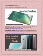 Compare Mobile Phone Deals UK