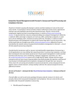 Streamline Payroll Management with Finsmart's Outsourced Payroll Processing and Compliance Services