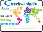 Top Digital Marketing Services Company - Gtechwebindia.com