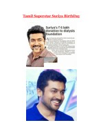 Tamil Superstar Suriya turns 43