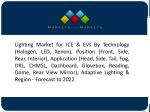 Growing Vehicle Production & Sales to Drive the Automotive Lighting System Market