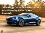 Global New Cars Market Value Forecast - Ken Research