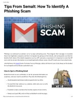 Tips From Semalt: How To Identify A Phishing Scam