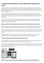 8 Go-To Resources About kitchen appliances package deals costco