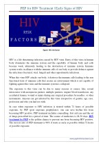 PEP for HIV Treatment | Early Signs of HIV