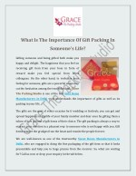 What Is The Importance Of Gift Packing In Someone's Life?