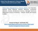 Global Policy Management In Telecom Market – Industry Trends and Forecast to 2025