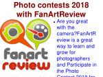 Free Photography Competitions & Photo Contests 2018