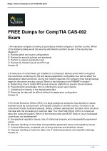 CertQueen CompTIA CASP CAS-002 Questions and Answers