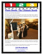 Photo Booth: The Ultimate Booth