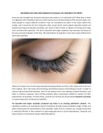 DREAMING FOR LONG AND GORGEOUS EYELASHES, USE CAREPROST EYE DROPS
