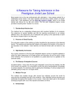 6 Reasons for Taking Admission in the Prestigious Jindal Law School