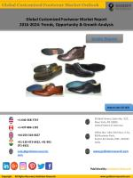 Customized Footwear Market Report 2016-2024: Global Industry Analysis, Trends, & Share
