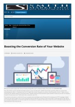 Boosting the Conversion Rate of Your Website