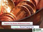 Property Tax Protest Williamson County