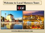 Welcome to Local Morocco Tours