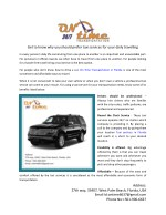 Get to know why you should prefer taxi services for your daily travelling
