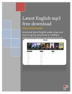Latest english mp3 free download