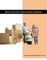 Best Furniture Removalist Sydney
