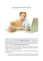 JOIN US FOR ASSIGNMENT HELP LONDON