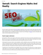 Semalt: Search Engines Myths And Reality