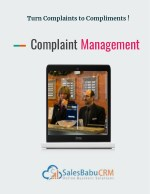 Salesbabu complaint management software - Turn Complaints to Compliments !