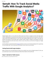 Semalt: How To Track Social Media Traffic With Google Analytics?