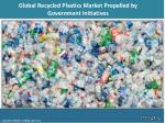 Global Recycled Plastics Market 2018 | Growth, Demand and Forecast Research Report to 2023