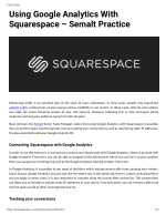 Using Google Analytics With Squarespace – Semalt Practice