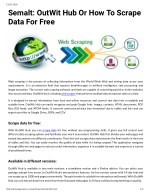 Semalt: OutWit Hub Or How To Scrape Data For Free
