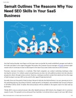 Semalt Outlines The Reasons Why You Need SEO Skills In Your SaaS Business
