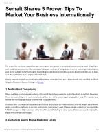 Semalt Shares 5 Proven Tips To Market Your Business Internationally