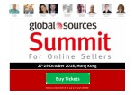 Global Sources Summit October 2018 for Online and Amazon Sellers