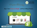 Open Your E-store on Shopify and Start Selling Products