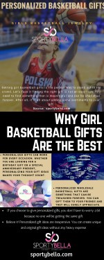 Girl Sports Team Gifts: Girls Basketball Jewelry