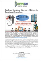 Employee Recruiting Software – Making the Recruitment Process Easy