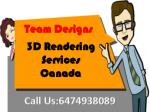 3D Architectural Rendering Service Toronto