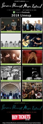 Sonoma Harvest Music Festival Tickets and 2018 Lineup