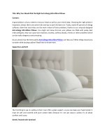 Why You Should Pick the Right Anti-allergy Microfibre Pillows