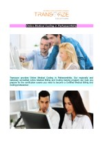 Online Medical Coding in Pathanamthitta
