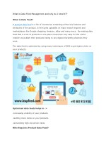 Supplier Data Management   Sell Product Online