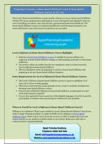 Why Choose Apple Training Academy for Child Care Short Courses?