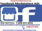 Want to create boosted post for facebook marketplace ads 1-888-623-7675