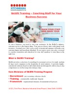 Skillfit Training – Coaching Staff For Your Business Success | Kitchenrama