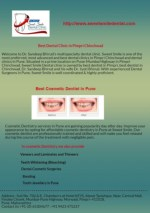 Cosmetic Dentistry in Pune | Sweet Smile Dental
