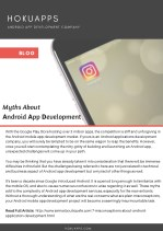Myths About Android App Development