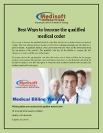 Best Ways to become the qualified medical coder