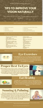 Natural Eye Vision Improvement Tips