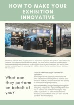 How to Make Your Exhibition Innovative