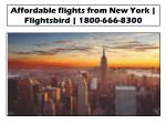 Affordable flights from Chicago to New York @Flightsbird